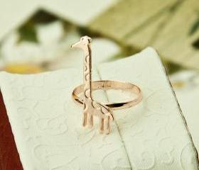 Giraffe Ring Jewelry Ring Little finger ring